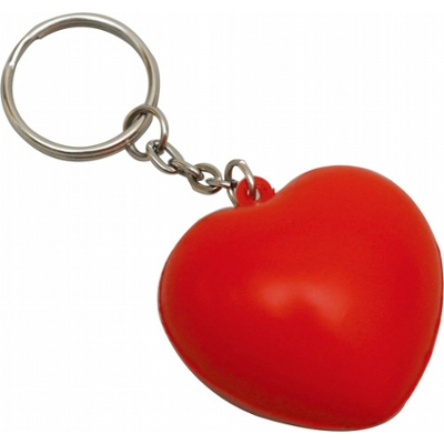 Picture of STRESS HEART KEY RING