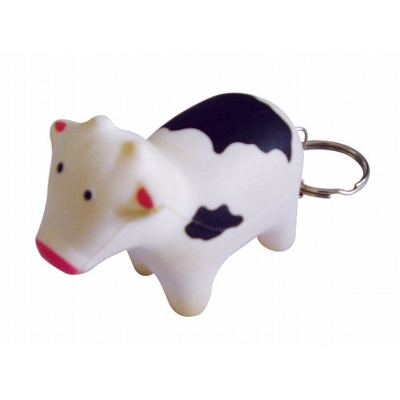 Picture of STRESS COW KEYRING