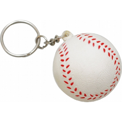 Picture of STRESS BASEBALL KEYRING