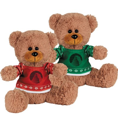 "Picture of Ugly Sweater 8"" Sitting Bear"