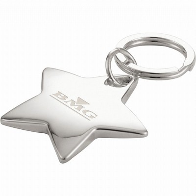 Picture of Star-Shaped Key Ring