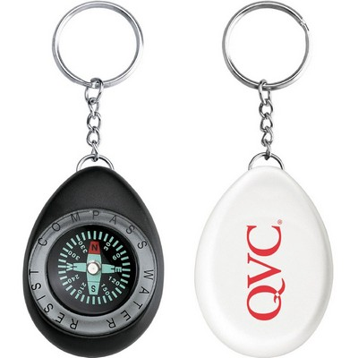 Picture of Oval Compass / Key Ring