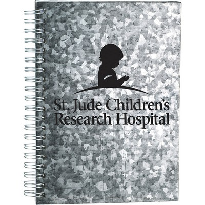 Picture of Galvanized Notebook
