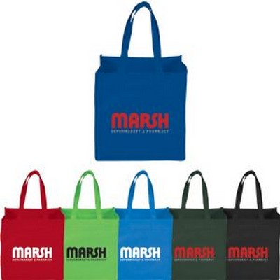 Picture of Squared Away 100g Non-Woven Tote