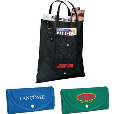 Picture of Maple Fold Up Non-Woven Tote