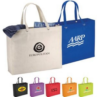 Picture of Oak Non-Woven Shopper Tote