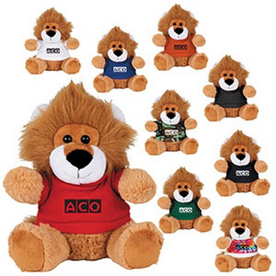 "Picture of 6"" Plush Lion with Shirt"