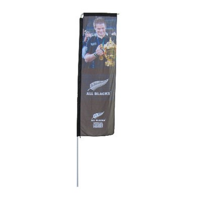Picture of Medium Rectangle Flag - Single Sided