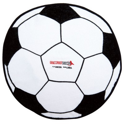 Picture of Soccer Ball Shaped Sports Towel