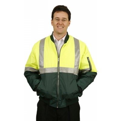 Picture of High Visibility Two Tone Flying Jacket with 3M Reflective Tapes