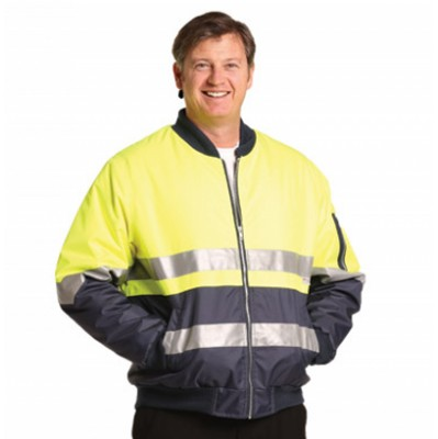 Picture of High Visibility Tow Tone Flying Jacket with 3M Reflective Tapes