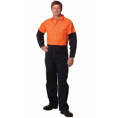 Picture of Mens Stout Size, Cotton Drill Coverall