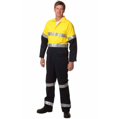 Picture of Mens Cotton Drill Coverall with 3M Scotchlite Reflective Tapes