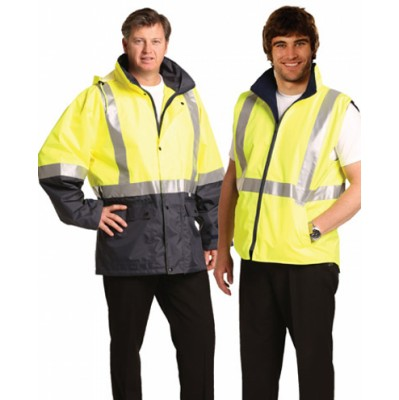 Picture of Hi-Vis Three in One Safety Jacket with 3M Tapes