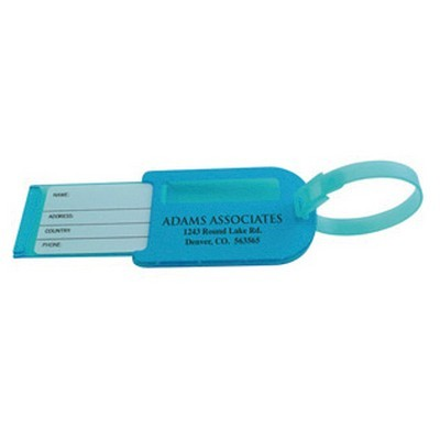 Picture of Slide Out Luggage Tag