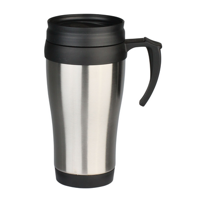 Picture of Stainless Steel Travel Mug (plastic inner) 450ml