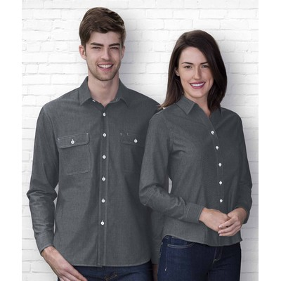 Picture of The Montreal Chambray Shirt - Mens