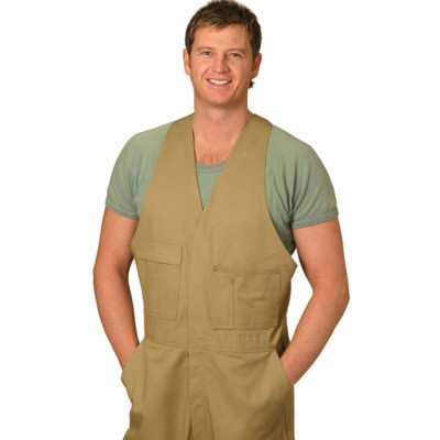 Picture of Mens Pre-Shrunk Heavy Cotton Action Back Overall