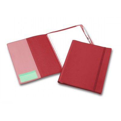 Picture of Deluxe Red Elastic Closure A4 Refillable Journal