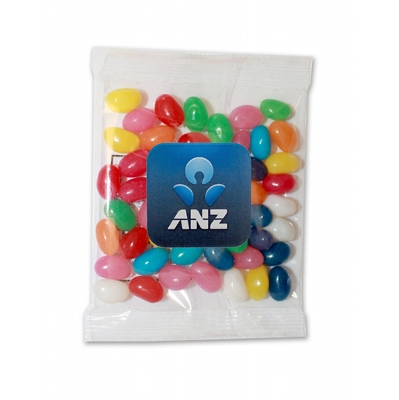 Picture of 50g bag - Mini Mixed Jellybeans