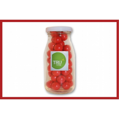 Picture of Christmas mini jellybeans 50g cello bag with label