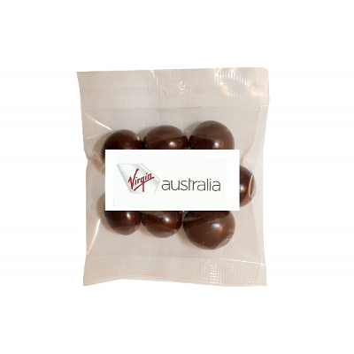 Picture of 50g Dark Chocolate Incaberries with label
