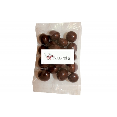Picture of 100g Dark Chocolate Incaberries with label