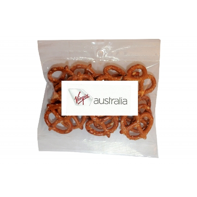 Picture of 30g Pretzels with label