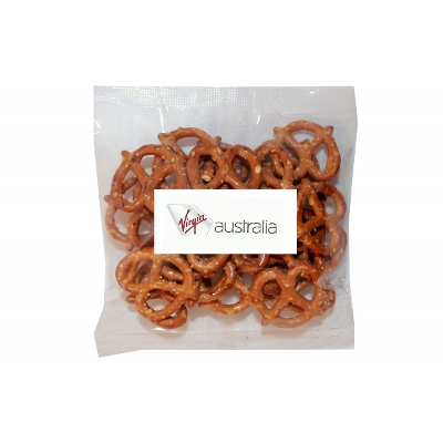 Picture of 50g Pretzels with label
