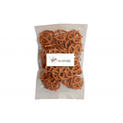 Picture of 100g Pretzels with label