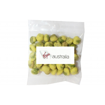 Picture of 30g Wasabi Peas with label
