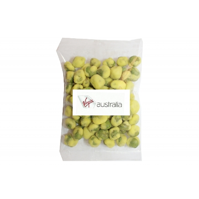 Picture of 50g Wasabi Peas with label