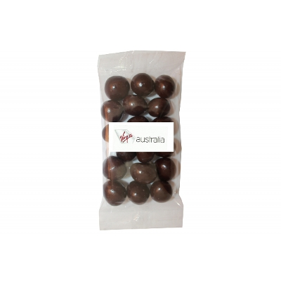Picture of 100g Healthy berries & cherries mix with label