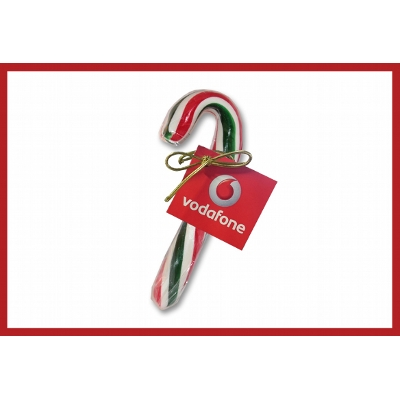 Picture of Christmas Large Handmade Candy Canes with label