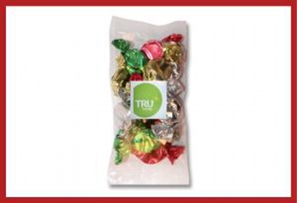 Picture of Christmas Toffees 100g cello bag with label