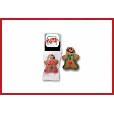 Picture of Gingerbread Man - Flow wrapped small with label
