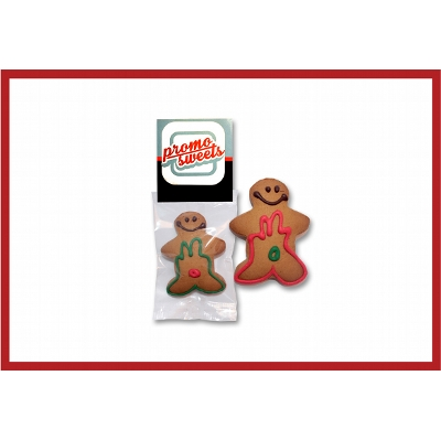 Picture of Gingerbrean Man - Flow wrapped large with label
