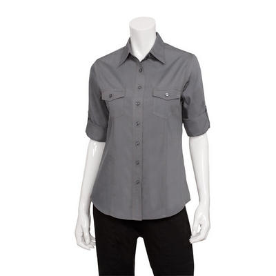 Picture of Women's Grey Two Pocket Shirt