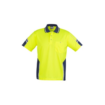Picture of Mens Hi Vis Squad S/S Polo