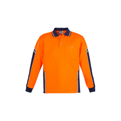 Picture of Unisex Hi Vis Squad Polo - Long Sleeve