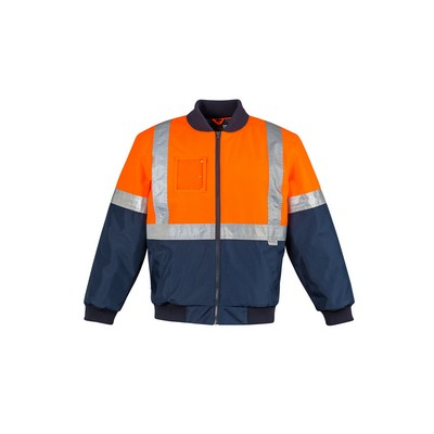 Picture of Mens HI Vis Quilted Flying Jacket