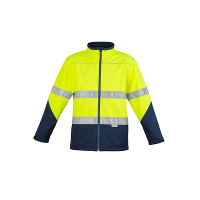 Picture of Unisex Hi Vis Soft Shell Jacket