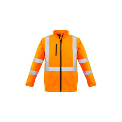 Picture of Unisex Hi Vis 2 in 1 X Back Soft Shell Jacket