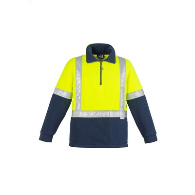 Picture of Mens Hi Vis Fleece Jumper - Shoulder Taped