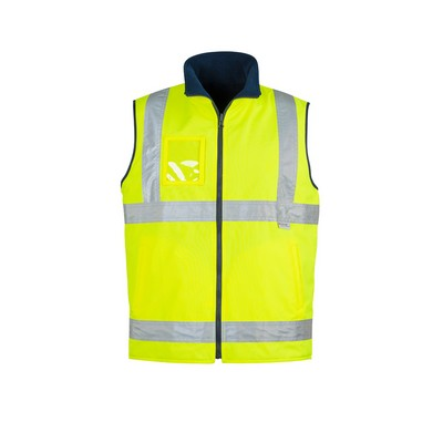 Picture of Mens Hi Vis Lightweight Fleece Lined Vest