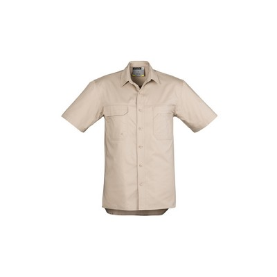 Picture of Mens Light Weight Tradie Shirt - Short Sleeve