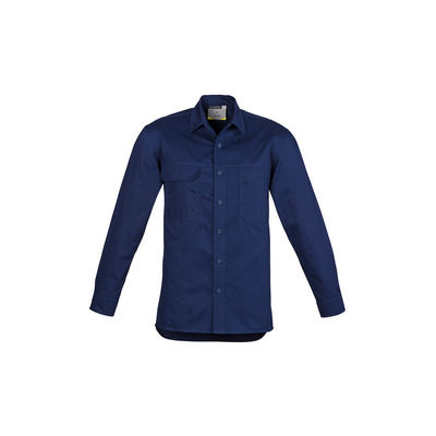 Picture of Mens Lightweight Tradie Shirt - Long Sleeve