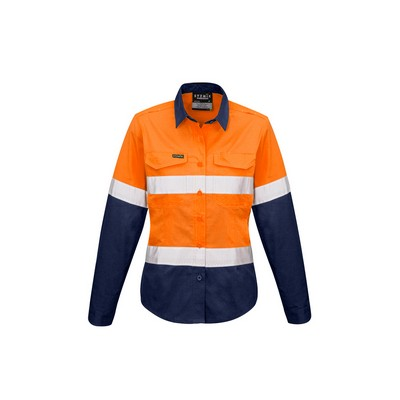 Picture of Womens Rugged Cooling Taped Hi Vis Spliced Shirt