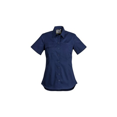 Picture of Womens Lightweight Tradie Shirt - Short Sleeve