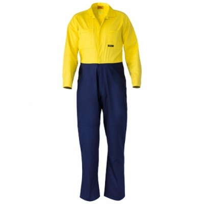 Two Tone Hi Vis Drill Coverall